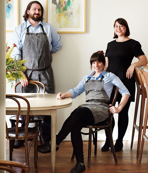 **Mike Eggert & Jemma Whiteman, Pinbone, Sydney** Marked as much by humility as irreverence, as obsessed by wine as they are by food, as immersed in the fruits of their local environment as they are by the latest ideas from overseas, Pinboners Jemma Whiteman and Mike Eggert could be the poster-kids of where cooking is at in Sydney circa 2014, and yet their cooking remains personal, unpredictable and richly fulfilling.      Photography: Prue Ruscoe