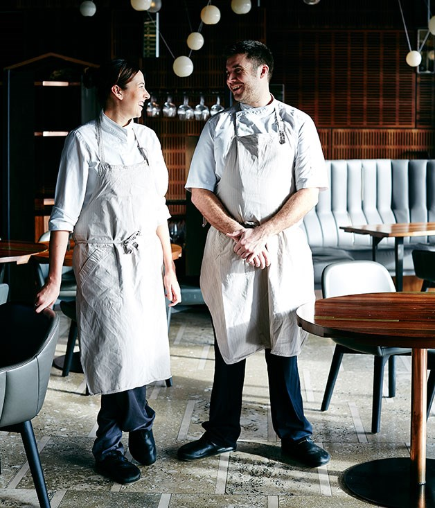 "**Scott Huggins & Emma Jade McCaskill, Magill Estate, Adelaide** With a combined curriculum vitae that takes in such diverse ports of call as St John and Sat Bains in the UK, Tokyo's RyuGin, and The Royal Mail and [Tetsuya's](http://gourmettraveller.com.au/restaurants/restaurant-guide/restaurant-reviews/t/tetsuya's/tetsuya's/ ""Tetsuya's"") back home in Australia, Emma McCaskill and Scott Huggins bring a worldly perspective to their work. At the helm of a state-of-the-art kitchen, at a restaurant designed by Pascale Gomes-McNabb in a Glenn Murcutt building on the historic site where Grange Hermitage was born, they've been tasked with creating a world-class eatery on the outskirts of Adelaide. We think they're more than up to the job.      Photography: John Laurie"