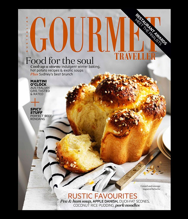 **** Pick up our August issue in print, or on your tablet from the Apple App Store or via GooglePlay, for the rest of our award nominations, including New Restaurant of the Year, Bar of the Year, Sommelier of the Year, and more. We'll announce the winners in our September issue, which goes on sale on Thursday 21 August, and includes our 2015 Australian Restaurant Guide.