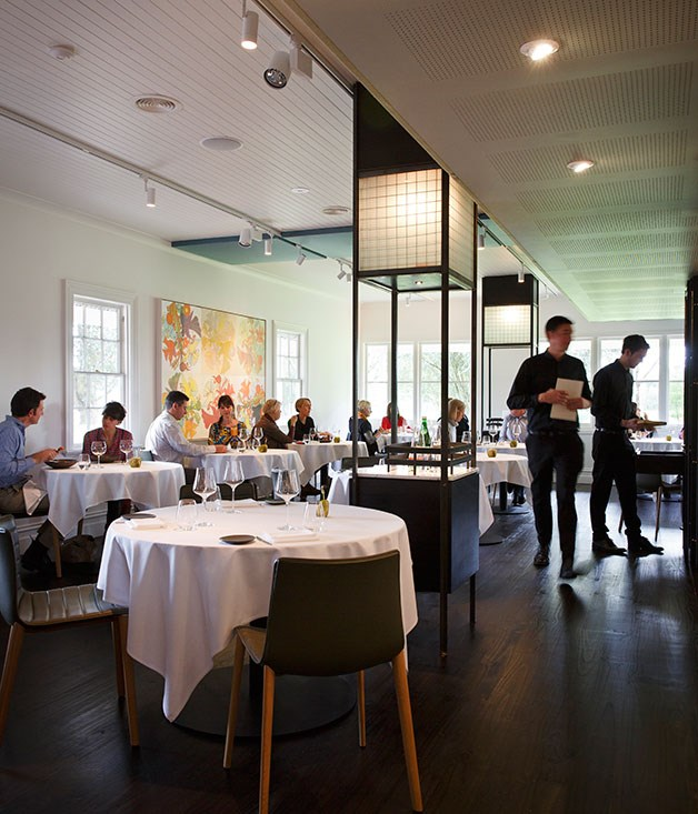 "**New Restaurant of the Year nominee** [Brae](/{localLink:27679} ""Brae, Birregurra, Victoria""), Birregurra, Vic   Dan Hunter's post-Royal Mail foray burst from the box confident, good-looking and ambitious, highlighting the chef's genius for capturing a sense of his surroundings in flavour, and exciting diners not just with what's on the plate now but with the prospect of what lies ahead.  Photography: Marcel Aucar"