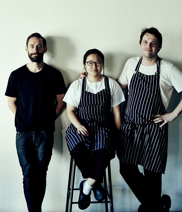 "**Best New Talent nominee** Eun Hee An & Ben Sears, [Moon Park](/{localLink:27806} ""Moon Park and Danjee, Sydney""), Sydney   This pair of talented young cooks have almost dual-handedly put contemporary Korean cooking on the map in Australia. Moon Park is a restaurant that's grounded in its Redfern setting, and its cooking takes wing as much on the strength of Eun Hee An and Ben Sears' experience at the likes of Claude's, Cutler & Co. and Vue de Monde as their shared love of Korean culture.      Photography: John Laurie"