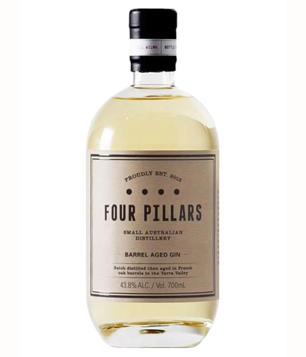 "**Flavoured and aged** [**Four Pillars Barrel Aged Gin 43.8% alc., Yarra Valley, Vic, $95**](http://www.fourpillarsgin.com.au ""Four Pillars Gin"")   To say that this gin, which was matured in old French oak barriques, ""split the judges"" is putting it mildly. Luke thought its bold vanilla and cumquat flavours could work really well in cocktails such as the Penicillin (with lemon juice, honey and ginger) or the Martinez (a vermouth-drenched precursor to the Martini), but I thought the resiny oaky flavours were coarse and gaggy, like bad retsina."