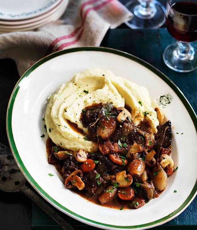 **Boeuf Bourguignon (Burgundy beef stew)**