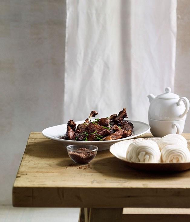**Shanxi-style fragrant crisp duck**