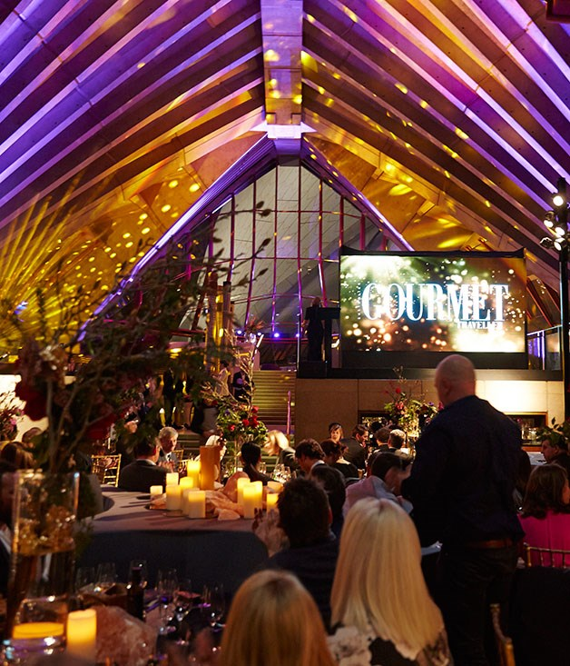**** The spectacular room, designed by Pascale Gomes-McNabb for the event, at Bennelong, Sydney Opera House.