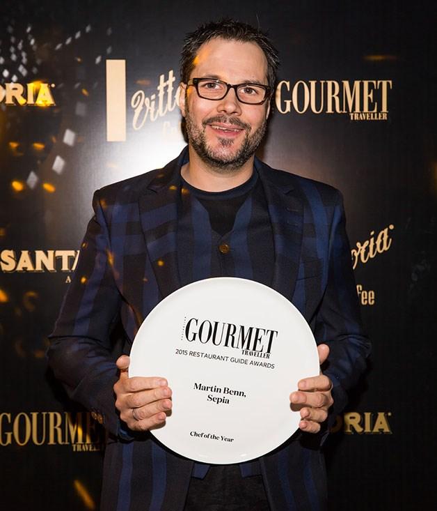 **** Chef of the Year Martin Benn.