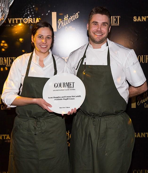 **** Best New Talent Award winners Emma McCaskill and Scott Huggins from Magill Estate.