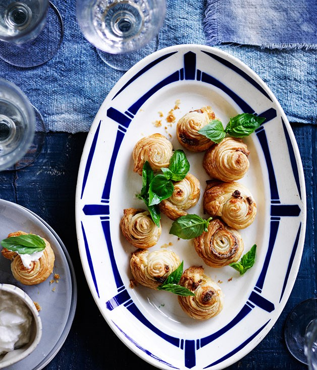 Anchovy puffs