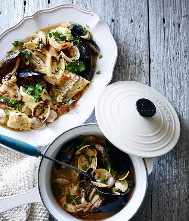 **Seafood stew**