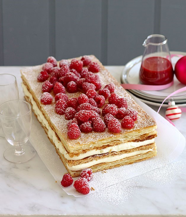 **Raspberry millefeuille**