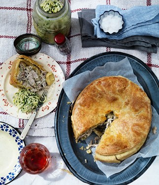 Celeriac and kohlrabi rémoulade