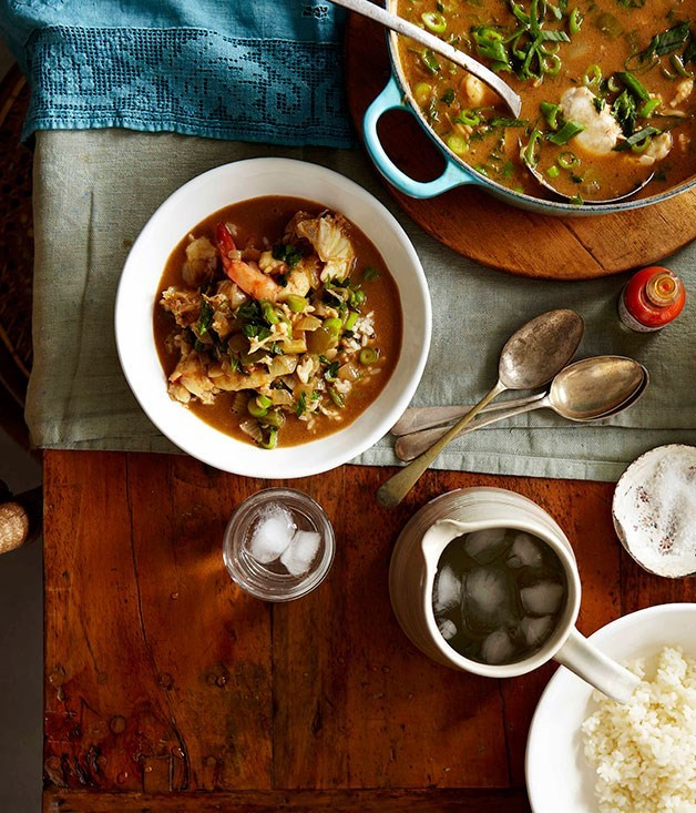 **Boo's shrimp and crab gumbo**