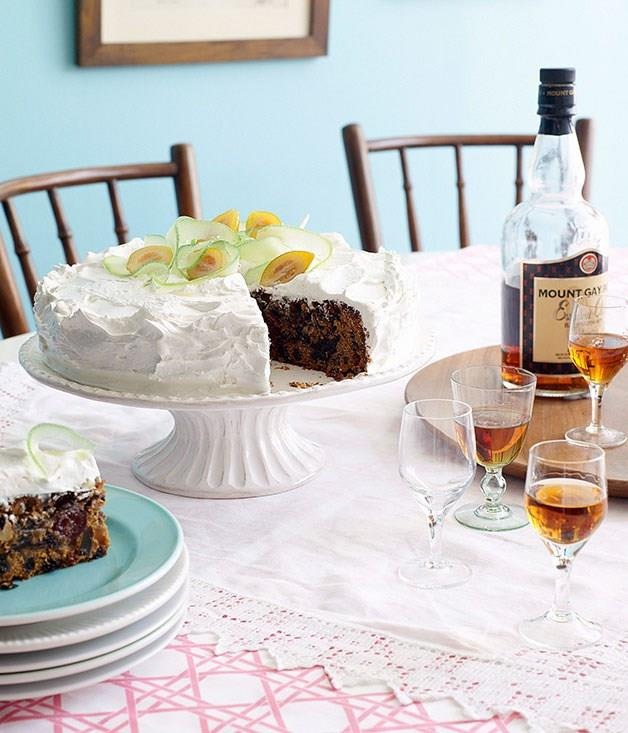 "[**Caribbean Christmas cake**](https://www.gourmettraveller.com.au/recipes/browse-all/caribbean-christmas-cake-9897 target=""_blank"")"