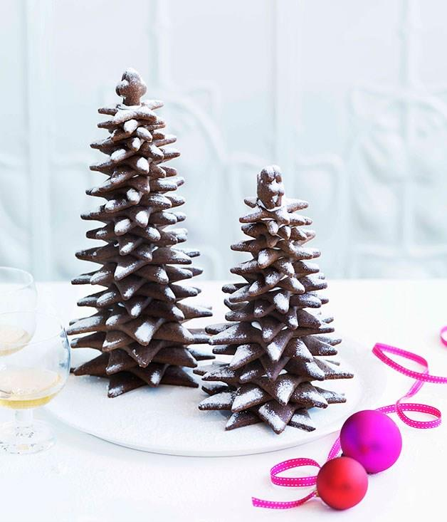 "[**Gingerbread Christmas trees**](https://www.gourmettraveller.com.au/recipes/chefs-recipes/adriano-zumbo-gingerbread-christmas-trees-7354 target=""_blank"")"