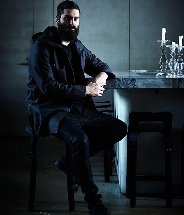 """**** Architect George Livissianis at [The Apollo](http://gourmettraveller.com.au/restaurants/restaurant-guide/restaurant-reviews/t/the/the-apollo/ """"The Apollo"""")."""