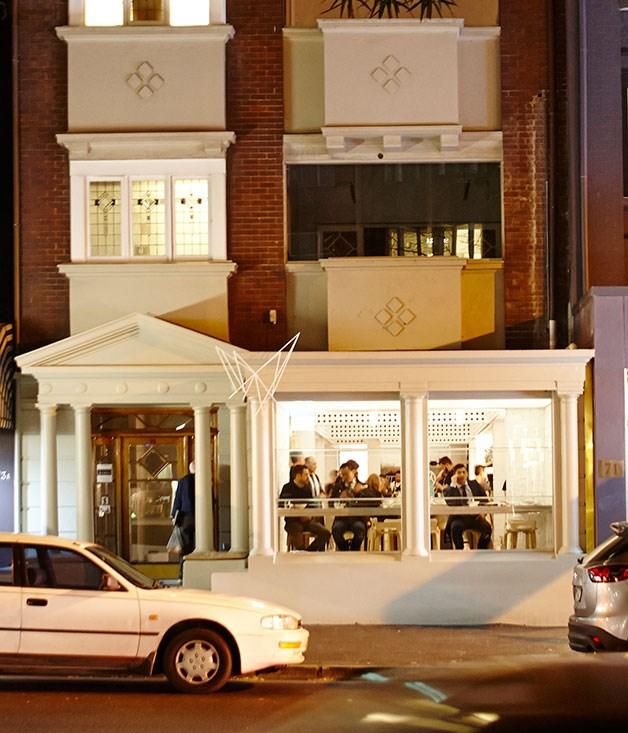 """**** The exterior of [Cho Cho San](http://gourmettraveller.com.au/restaurants/restaurant-reviews/2014/7/cho-cho-san-sydney-review/ """"Cho Cho San, Sydney review""""), Sydney."""
