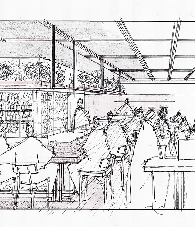 **** A sneak-preview of Livissianis's plans for the new Potts Point incarnation of Billy Kwong.