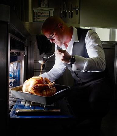 Heston Blumenthal's roast turkey