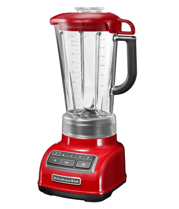 "**KitchenAid Diamond blender** [KitchenAid](http://kitchenaid.com.au/ ""Kitchen Aid"") have added a blender to the family - among its key functions, the ability to chop, mix, purée, crush ice and create hot food such as soups. And, in true KitchenAid style, it comes in a range of exciting colours, such as this popping fire-engine red. _$329_"