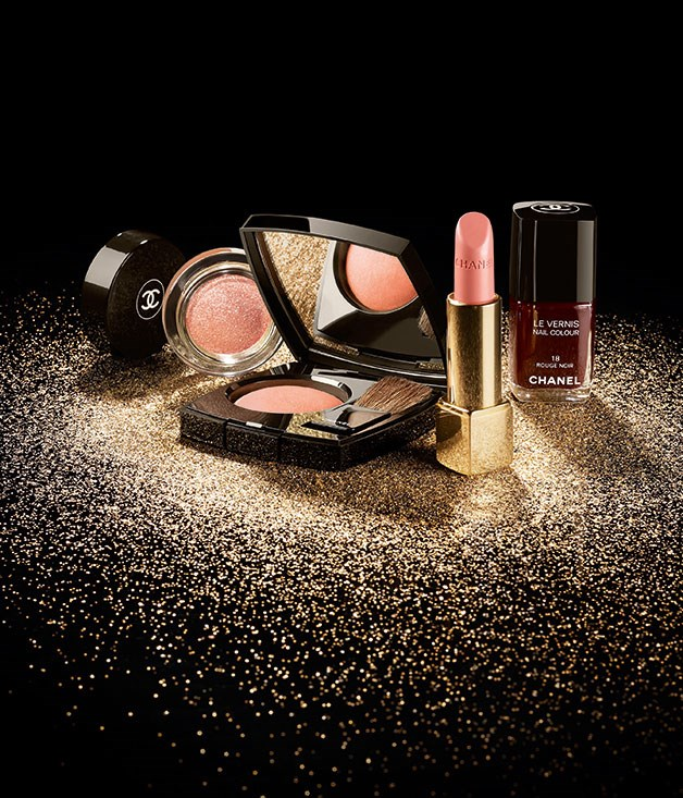**Chanel Christmas make-up** Get sparkly this party season with Chanel's spotlight-grabbing Christmas make-up collection. _From $44, for stockist information visit [Chanel's website](http://www.chanel.com/en_AU/)_