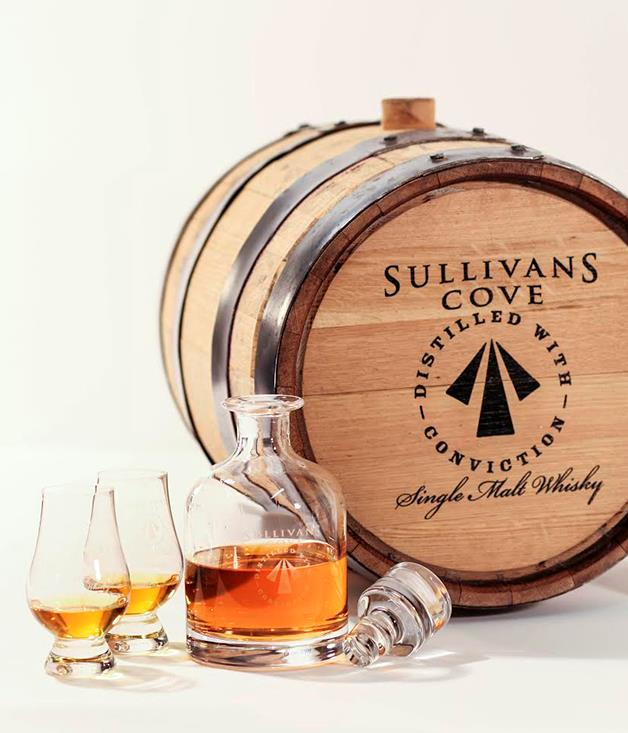 **Whisky kit** Whisky enthusiasts take note: [Sullivans Cove distillery](https://www.tasmaniadistillery.com.au/sullivanscovewhisky/shop) in Tasmania are brewing, malting and distilling 20 litre casks of the world's best single malt whisky, to order. Choose between an ex-Port or ex-Bourbon cask, then visit your new liquid friend as it matures for a taste test. _$4250_