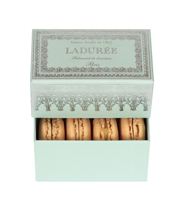 "**Ladurée Napoleon box** [Ladurée's](https://www.laduree.com/en_int/ ""Laduree"") Napoleon box, which comes with four of the French confectionary house's famous macarons, makes for the sweetest of stocking fillers. _$18_"