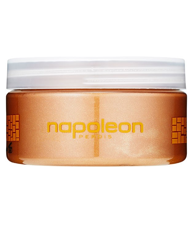 "**** Pick up [Napoleon Perdis](http://www.napoleonperdis.com ""Napoleon Perdis"") Whipped Dream Tan Enhancer, $40 for 250gm, to lengthen the life of your tan."