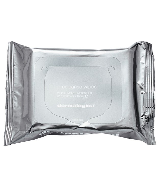 "**** [Dermalogica](http://www.dermalogica.com/au ""Dermalogica"") PreCleanse Wipes, $23, travel well and do the job in an instant."