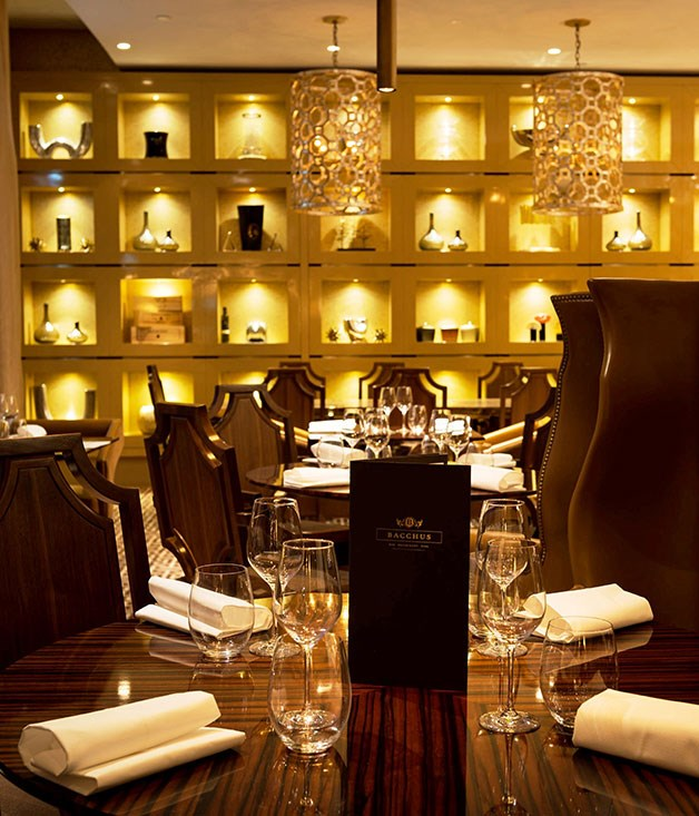 "[**Bacchus**](https://www.gourmettraveller.com.au/dining-out/restaurant-reviews/bacchus-6691|target=""_blank"") Rydges doesn't exactly leap to mind when you think ""complex dishes delivered with brio"". But that's what you'll find beside the pool on the first floor here."