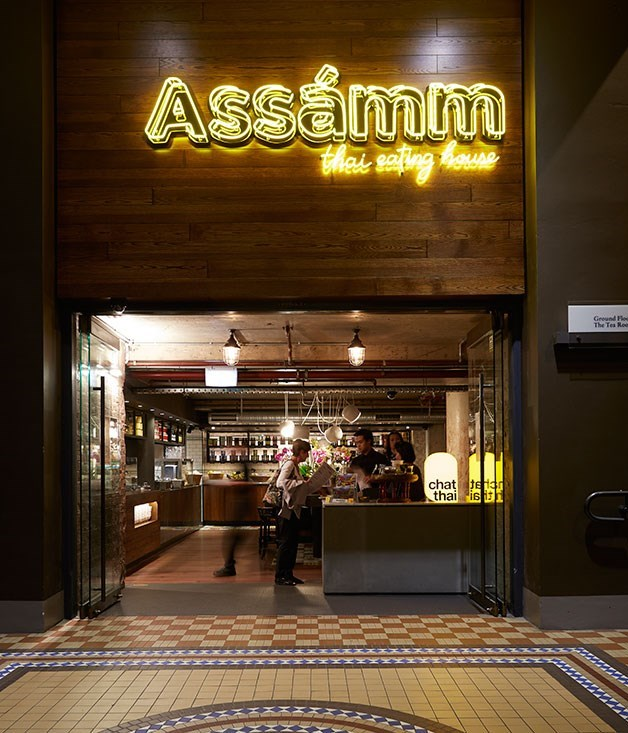 **Assámm** The latest venture from Amy Chanta of Chat Thai fame, [Assámm](http://www.gourmettraveller.com.au/restaurants/restaurant-news-features/2014/11/hot-plates-7-november-2014/) puts new spins on the Thai canon by playing up (and in some cases making up) Chinese, Vietnamese and even Japanese influences.