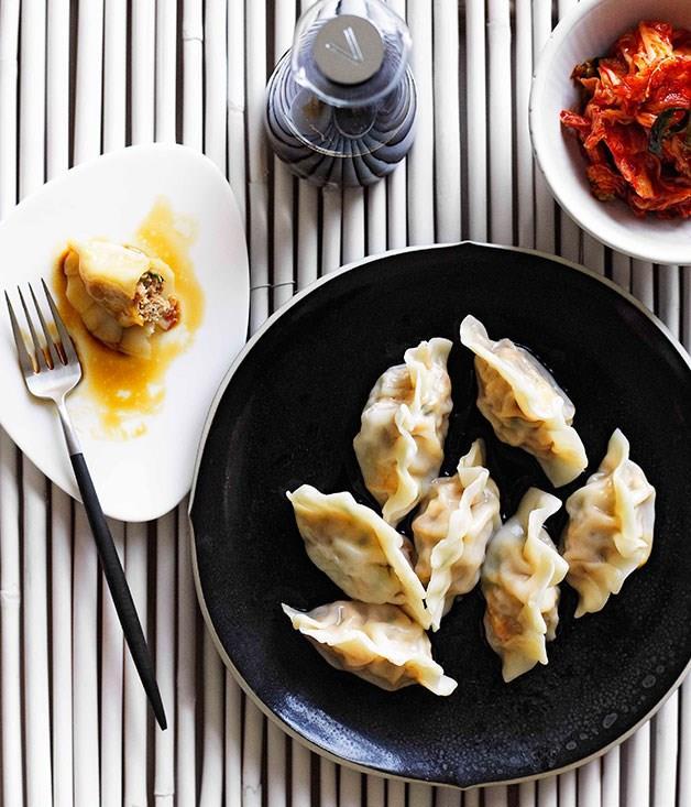 "[Mandu](https://www.gourmettraveller.com.au/recipes/browse-all/mandu-10682 target=""_blank"")"