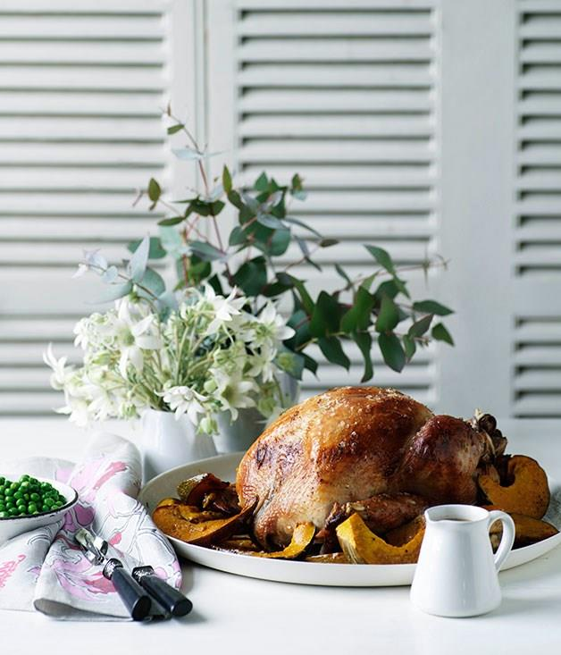 """[**Classic roast turkey**](https://www.gourmettraveller.com.au/recipes/browse-all/classic-roast-turkey-10289
