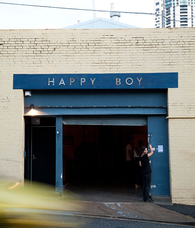 **Happy Boy** Hidden down a back street in an old garage that used to be Little Tokyo, [Happy Boy's](http://www.gourmettraveller.com.au/restaurants/restaurant-news-features/2014/11/hot-plates-13-november-2014/) interiors favour stylish industrial chic, while its menu paves a tasty track through regional China.