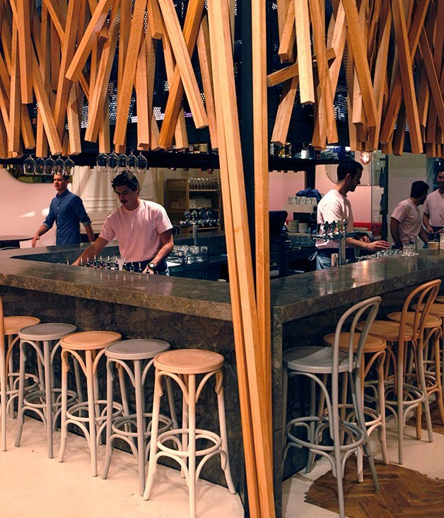 **Stokehouse City** The replicated restaurant-up/café-down structure of the St Kilda original at [Stokehouse City](http://www.gourmettraveller.com.au/restaurants/restaurant-news-features/2014/5/stokehouse-city,-melbourne/) sees chef Oliver Gould upstairs pumping out big-flavoured dishes.