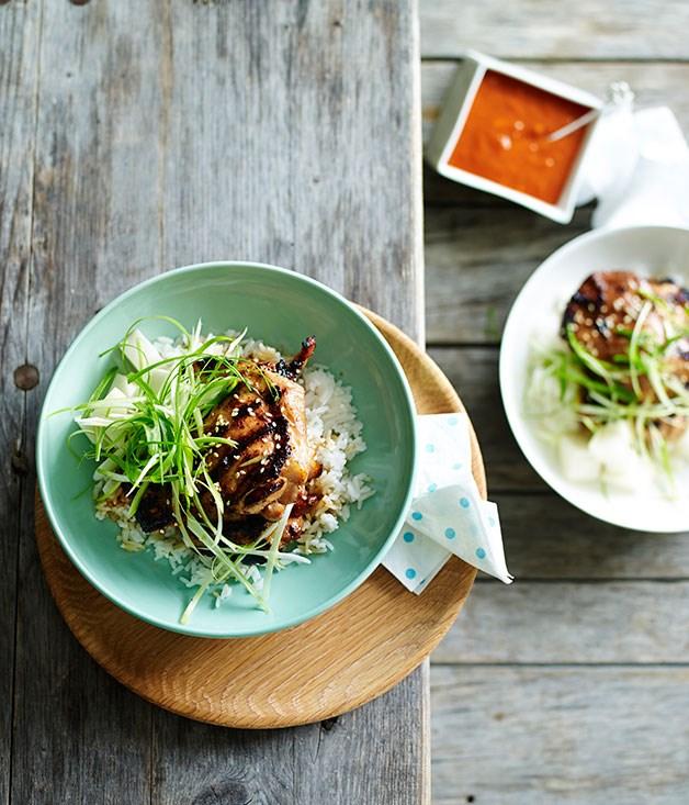 Korean-style grilled chicken