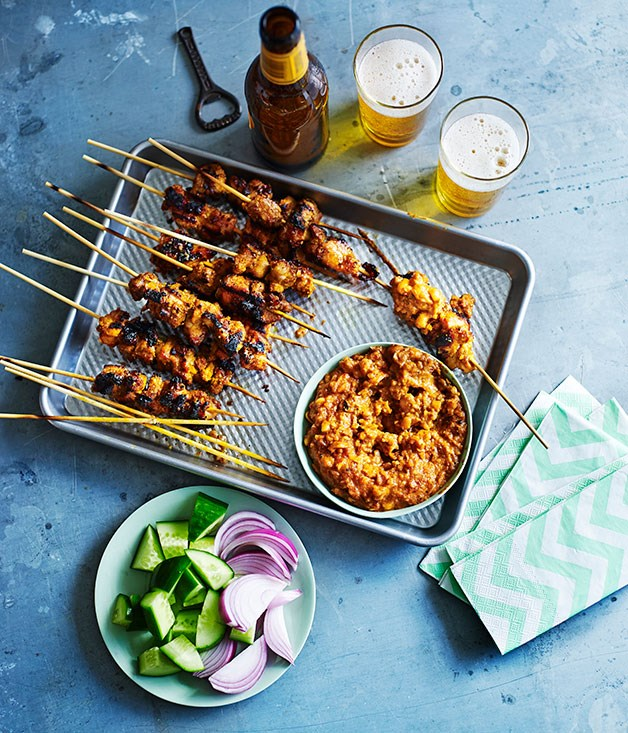 **Chicken satay**