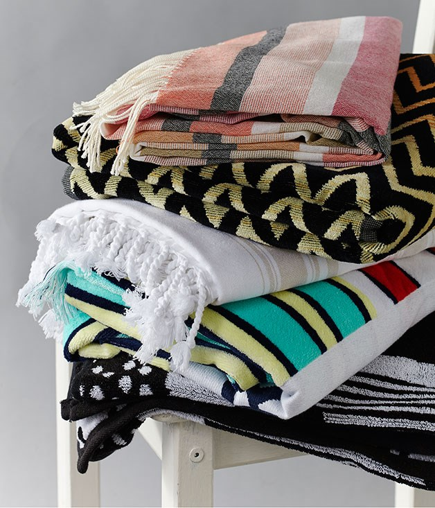In the bag: beach towels