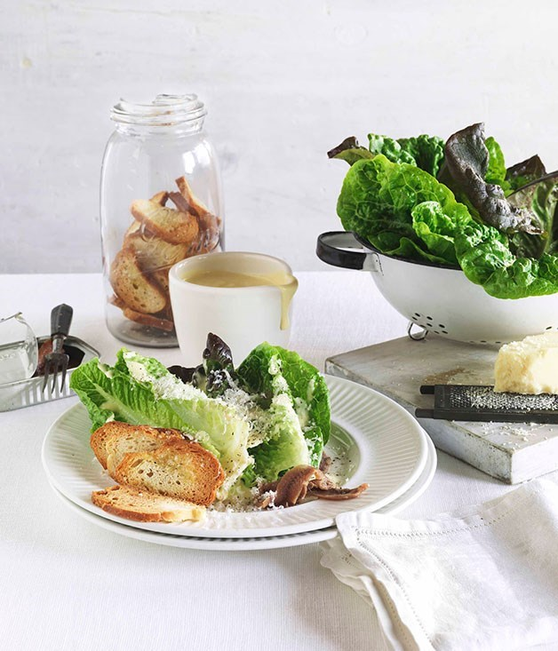 "[**Fried quail with cucumber and lettuce wedges**](https://www.gourmettraveller.com.au/recipes/fast-recipes/caesar-salad-13142|target=""_blank"")"