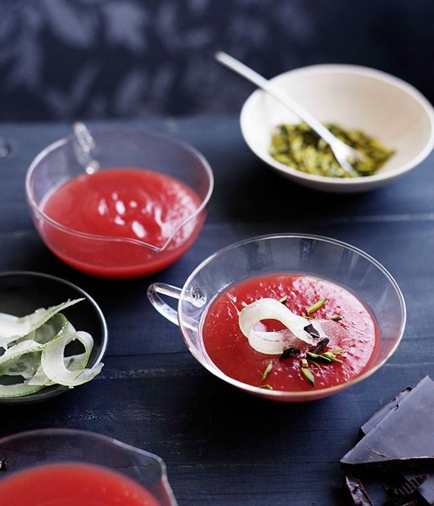 "[**Gelo di anguria**](https://www.gourmettraveller.com.au/recipes/browse-all/gelo-di-anguria-10593|target=""_blank"")"