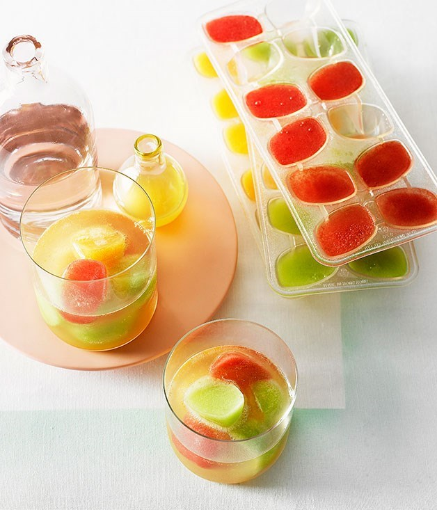 **Melon and vodka ice**