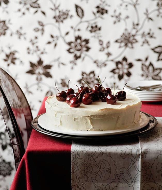 "[**Italian cherry cake**](https://www.gourmettraveller.com.au/recipes/browse-all/italian-cherry-cake-9955|target=""_blank"")"