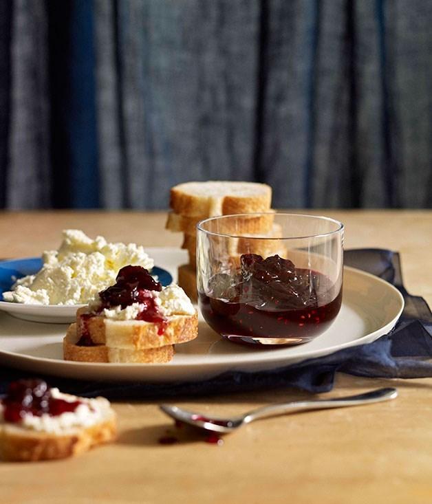 "[**Cherry-vanilla jam**](https://www.gourmettraveller.com.au/recipes/browse-all/cherry-vanilla-jam-10574|target=""_blank"")"