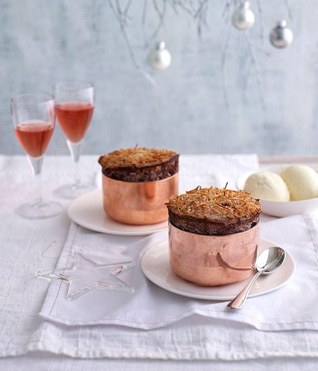 "[**Cherry Ripe soufflé**](https://www.gourmettraveller.com.au/recipes/chefs-recipes/cherry-ripe-souffle-9150|target=""_blank"")"