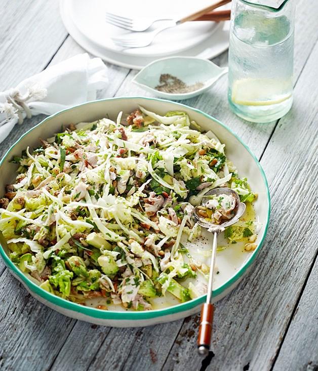 Chicken And Avocado Salad Recipe Pete Evans Gourmet Traveller