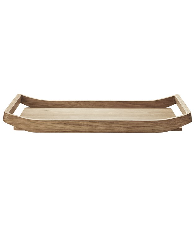 "**Georg Jensen Barbry breakfast tray** If you're lucky this Valentine's Day, breakfast in bed will be served on this Nordic-inspired oak-wood tray, designed by Aurelien Barbry for [Georg Jensen](http://www.georgjensen.com/en-au ""Georg Jensen""). _$160_"