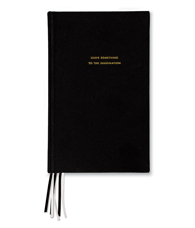 "**Kate Spade notebook** Bring back the handwritten love notes with this [diary](http://www.papierdamour.com.au/stationery/kate-spade-ny-stationery/kate-spade-ny-journal-black.html ""Papier d'Amour"") from New York designer Kate Spade. Sophisticated, practical and just a little bit cheeky. _$45_"