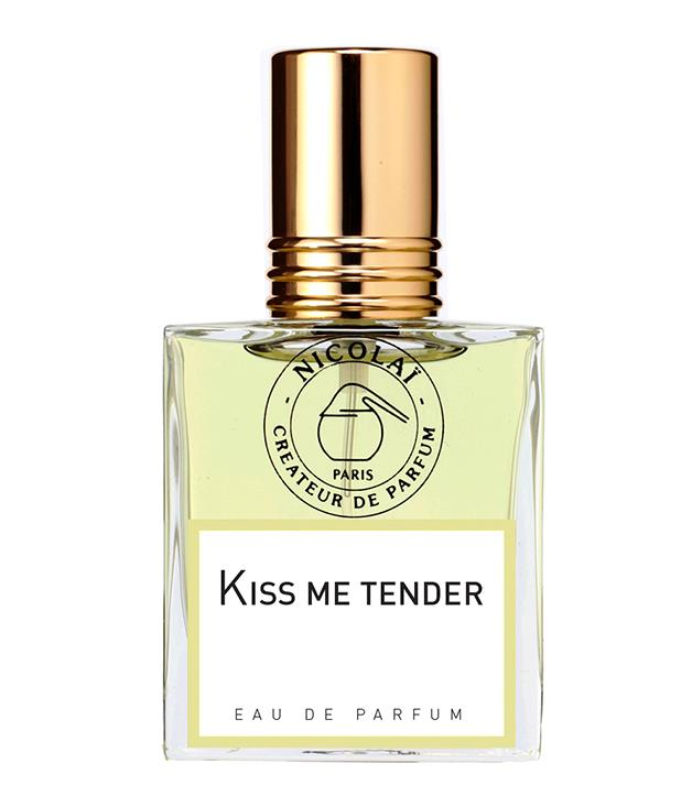 "**Nicolai Kiss Me Tender perfume** This aptly named fragrance from French boutique perfumery Nicolai puts the spotlight on orange-flower and almond, with undertones of jasmine and ylang-ylang. You'll find it exclusively at [Napoleon Perdis](http://lifestyle.napoleonperdis.com/ ""Napoleon Perdis"") Life.Style. _$75_"