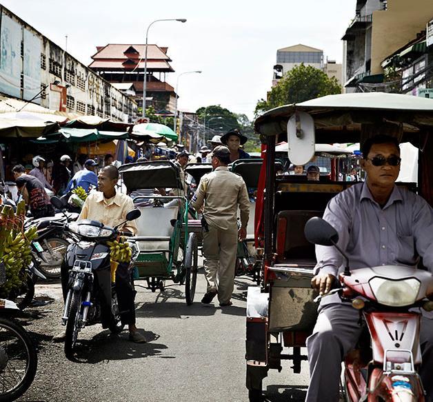 Cruising the Mekong Delta