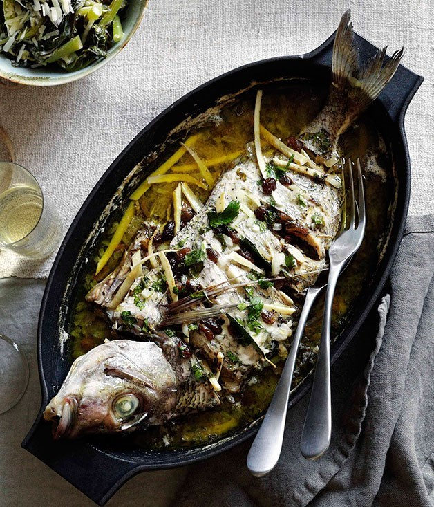 **Bari-Style Sea Bream**
