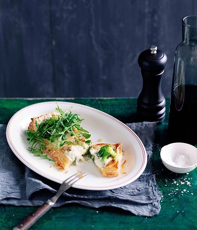 **Broccoli and Salt Cod Torta**